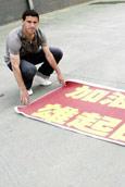 西甲3球星支持中国抗灾 阿奎罗:为四川而战(图)