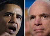 奥巴马即将对决麦凯恩