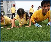 奥运引发全民健身热潮