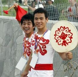 奥运开幕式最后一次彩排 9万观众现场见证