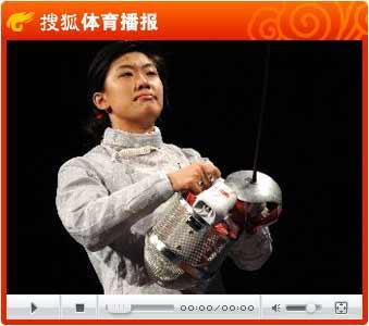 视频:剑气纵横惜败对手 中国女三剑客力战摘银