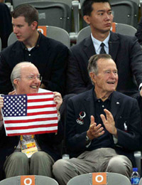 布什,政要,北京奥运,场外,嘉宾,08北京