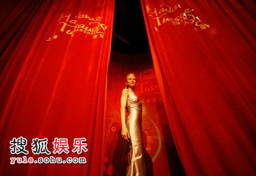 妮可-基德曼蜡像落户上海