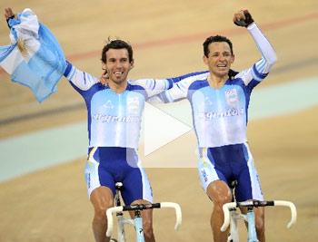 阿根廷,自行车,夺金,奥运