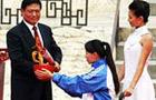 北京残奥火炬接力
