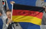 """德国运动员亮出""""北京你好"""""""