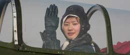 """中国首次按照""""2.5+1.5""""方式培训的女飞行员"""