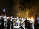 发生爆炸后的万豪酒店