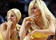 NBA啦啦女郎性感热舞