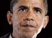 奥巴马成美国首位黑人候选人