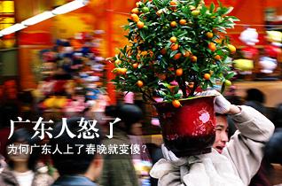 广东政协委员质疑:为何广东人上了春晚就变傻