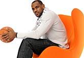 08-09赛季NBA全明星宣传照 詹姆斯帅气逼人