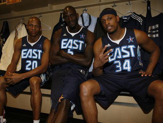 NBA全明星赛:更衣室大揭秘