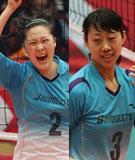 王莉,杨洁,女排