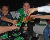啤酒,免费,桌上足球