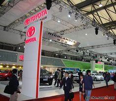 2009上海车展丰田展台