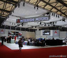 2009上海车展三菱展台