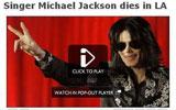迈克尔杰克逊去世 BBC