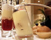 第三层的甜点一般为蛋糕及水果塔