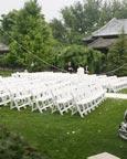 草坪婚礼场景