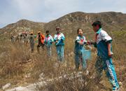 绿色长征2009活动:地球日植树