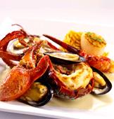 美岸海鲜厅招牌菜:一磅半波士顿龙虾
