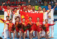 中国体操队