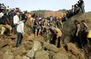 印尼地震救援现场