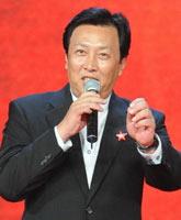 唐国强在片中饰演毛泽东,建国大业北京首映