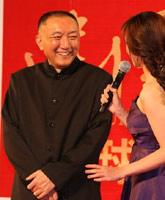 韩三平走上红毯,建国大业北京首映