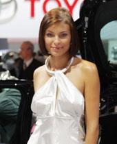 美女车模,法兰克福车展