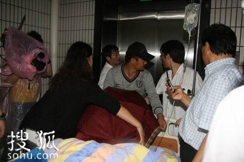 病床上的为赵本山