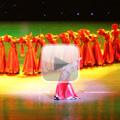 彩排蒙古舞