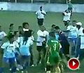 巴西女足联赛疯狂群殴 重拳飞脚场面惨烈