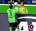 14岁球童界外球戏耍莱曼 德国前国门黄油手出丑