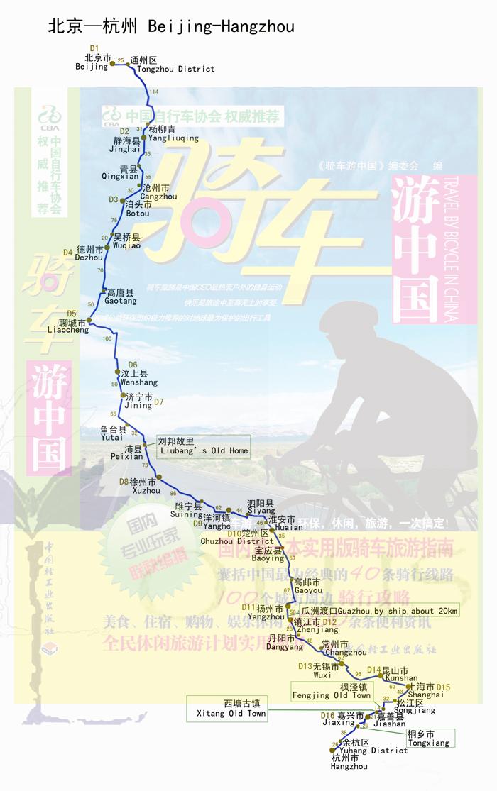 京杭大运河_京杭大运河地图,京杭大运河路线; 03 单车骑行攻略