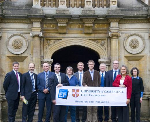 EF英孚教育与剑桥大学考试中心合作达成全球通用的语言测评系统