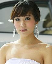 起亚展台模特组图,广州车展