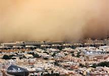 关注哥本哈根气候大会:沙特遭遇20年来最强沙尘暴