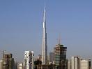 正在建设中的迪拜塔