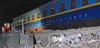 俄火车出轨