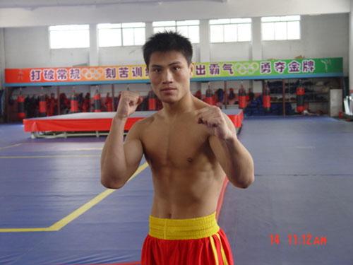 山东队70公斤级队员 杜广强