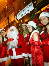 香港旅游,圣诞,香港美景,兰桂坊
