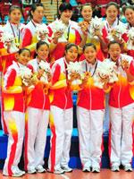 中国女排,东亚运