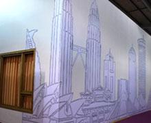 广州国际设计周,涂鸦的房子