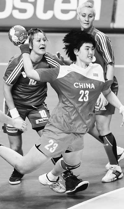 中国冰球手球打法项目弃韩从欧女子带战术发成绩韩国暴打中国视频图片