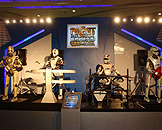 广州跨世纪机器人博览会,明日世界计算机乐团4人组 (Robot Band)