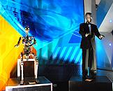 广州跨世纪机器人博览会,明日世界脱口秀机械人S-doll standing