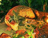 广州跨世纪机器人博览会,森林世界,黑凯门短鼻鳄 Black Caiman