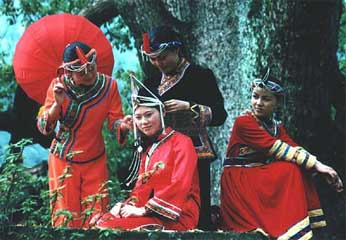畲族婚俗:女有十八难